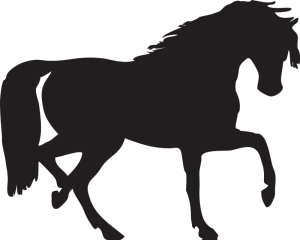 Horse_Silhouette_Animal_Clipart